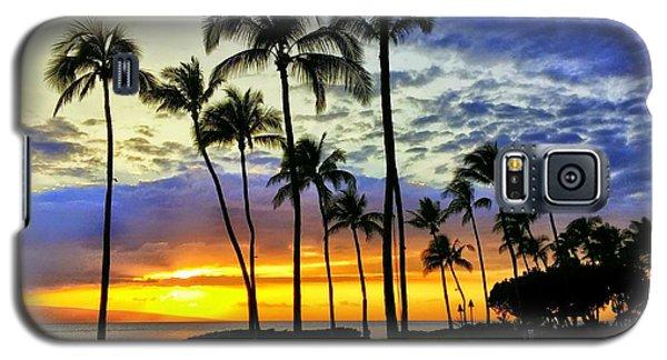 Beautiful Maui Hawaii Sunset Galaxy S5 Case