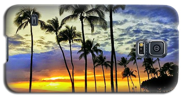 Beautiful Maui Hawaii Sunset Galaxy S5 Case