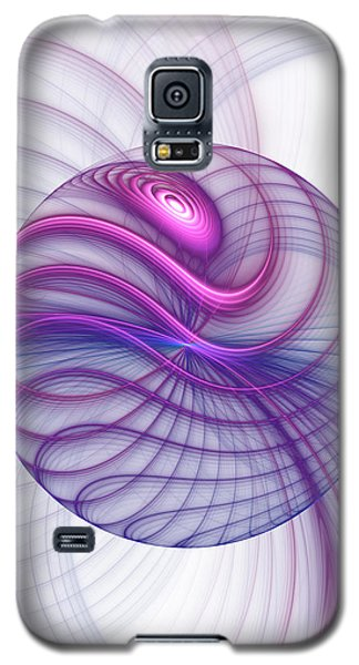 Beautiful Movements Fractal Art Galaxy S5 Case