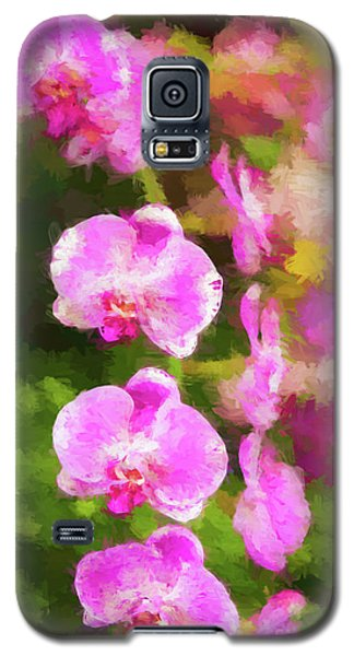 Beautiful Orchids Galaxy S5 Case