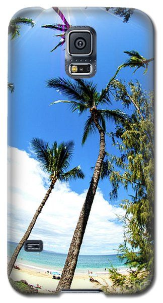 Galaxy S5 Case featuring the photograph Beautiful Palms Of Maui 17 by Micah May
