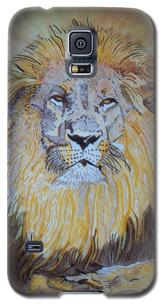 Beautiful Pose Of The King Galaxy S5 Case by Connie Valasco