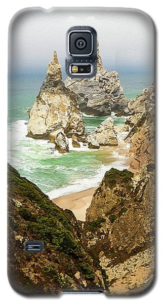 Beautiful Praia Da Ursa In Portugal Galaxy S5 Case