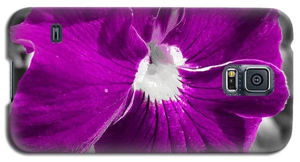 Beautiful Purple Galaxy S5 Case