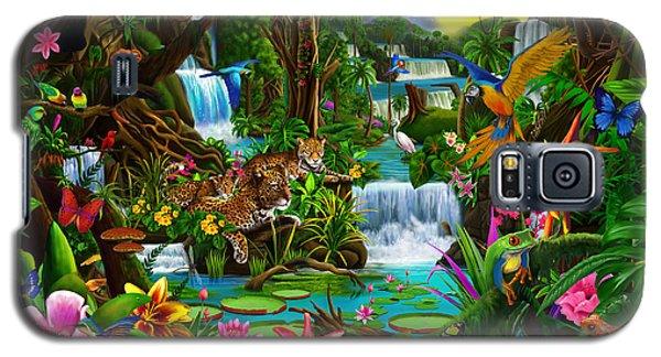 Toucan Galaxy S5 Case - Beautiful Rainforest by Gerald Newton