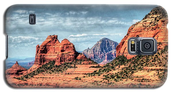 Galaxy S5 Case featuring the photograph Beautiful Sedona Az by Tom Prendergast