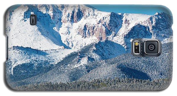 Beautiful Spring Snow On Pikes Peak Colorado Galaxy S5 Case