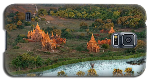 Beautiful Sunrise In Bagan Galaxy S5 Case