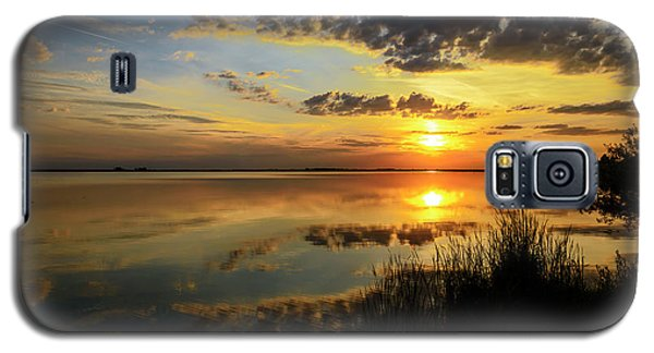 Beautiful Sunset At The Lake Galaxy S5 Case
