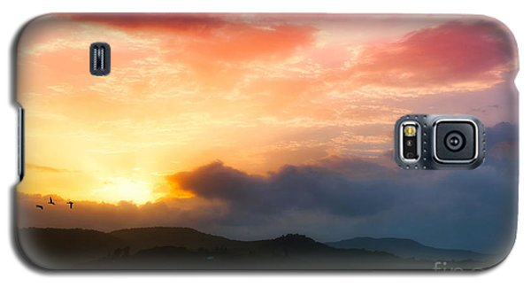 Beautiful Sunset Galaxy S5 Case by Charuhas Images