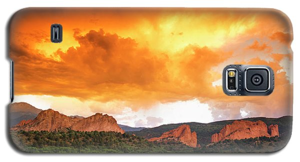 Galaxy S5 Case featuring the photograph Beautiful Sunset by Tim Reaves