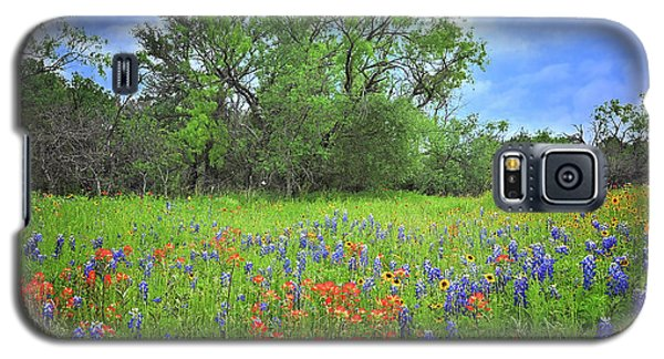 Beautiful Texas Spring Galaxy S5 Case