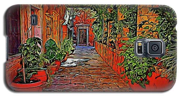 Beautiful Walkway 19318 Galaxy S5 Case