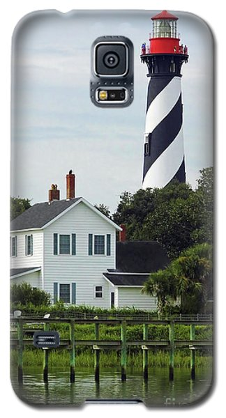 Beautiful Waterfront Lighthouse Galaxy S5 Case by D Hackett