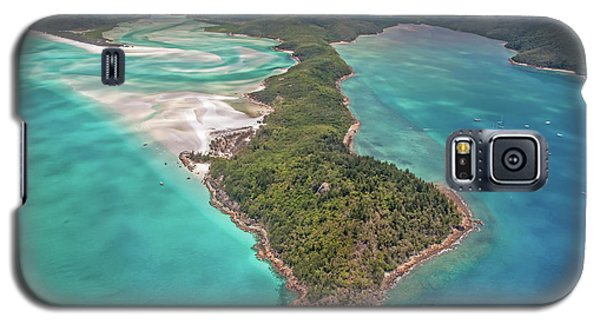 Galaxy S5 Case featuring the photograph Beautiful Whitsundays by Az Jackson