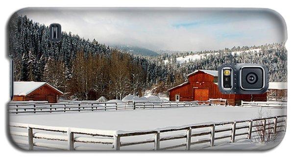 Beautiful Winter Morning Galaxy S5 Case
