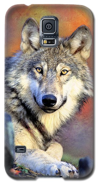 Beautiful Wolf Art Galaxy S5 Case