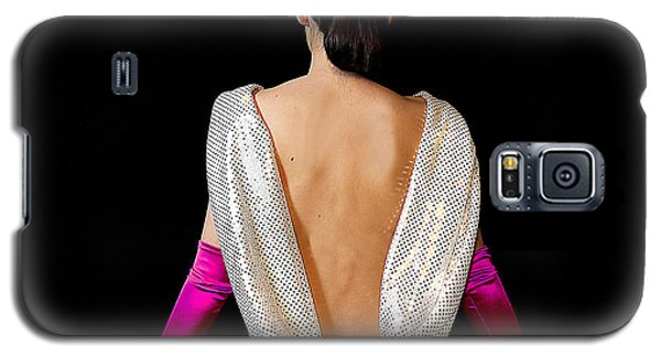 Beautiful Woman's Back Galaxy S5 Case