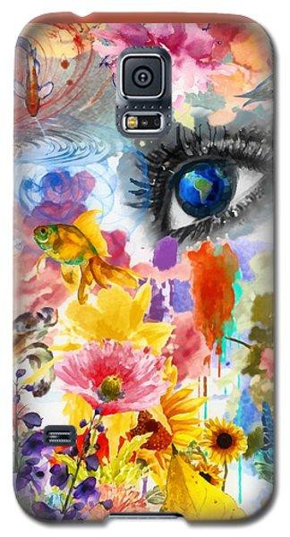 Beautiful World Galaxy S5 Case