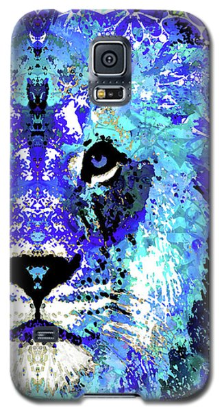 Beauty And The Beast - Lion Art - Sharon Cummings Galaxy S5 Case by Sharon Cummings