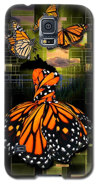 Galaxy S5 Case featuring the mixed media Beauty In All Things by Marvin Blaine