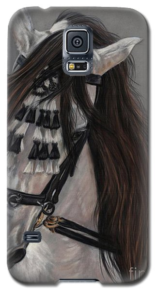 Galaxy S5 Case featuring the painting Beauty In Hand by Sheri Gordon