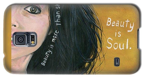 Beauty Is Soul Galaxy S5 Case