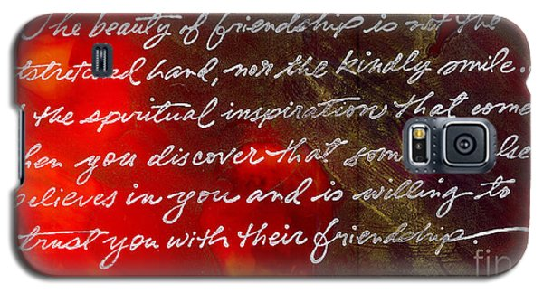 Beauty Of Friendship Galaxy S5 Case
