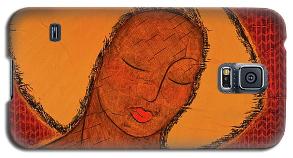 Galaxy S5 Case featuring the mixed media Beauty Of Silence by Gloria Rothrock