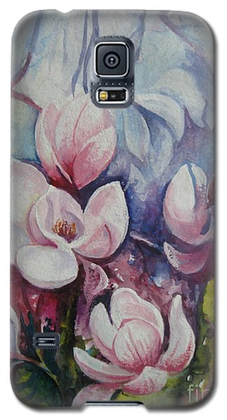 Galaxy S5 Case featuring the painting Beauty Of Spring by Elena Oleniuc