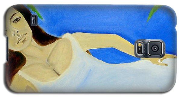 Beauty On The Beach Galaxy S5 Case