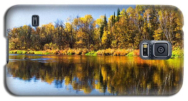 Beauty On The Big Fork Galaxy S5 Case