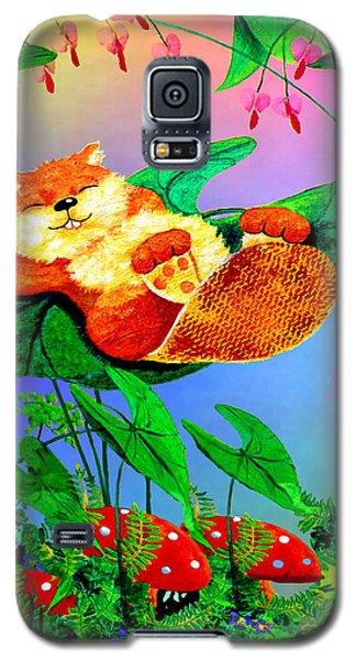 Beaver Bedtime Galaxy S5 Case by Hanne Lore Koehler