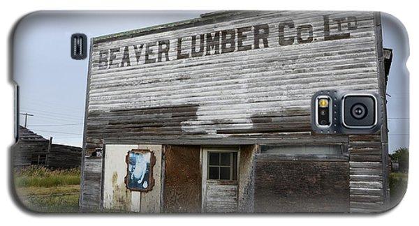 Beaver Lumber Company Ltd Robsart Galaxy S5 Case by Bob Christopher