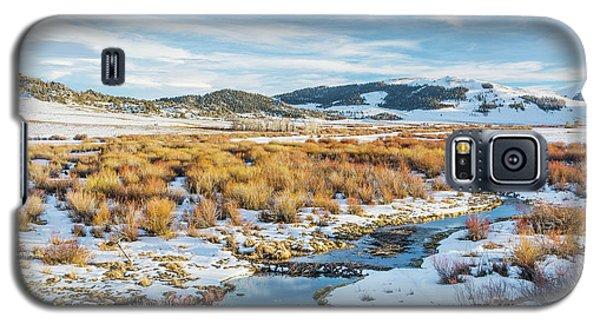 beaver swamp in Rocky Mountains Galaxy S5 Case by Marek Uliasz
