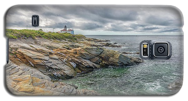 Beavertail Lighthouse On Narragansett Bay Galaxy S5 Case