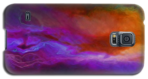 Becoming - Abstract Art - Triptych 1 Of 3 Galaxy S5 Case