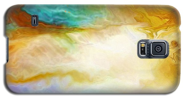 Becoming - Abstract Art - Triptych 2 Of 3 Galaxy S5 Case
