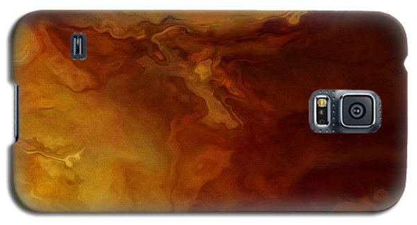 Becoming - Abstract Art - Triptych 3 Of 3 Galaxy S5 Case