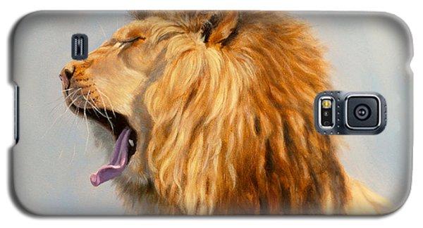 Bed Head - Lion Galaxy S5 Case