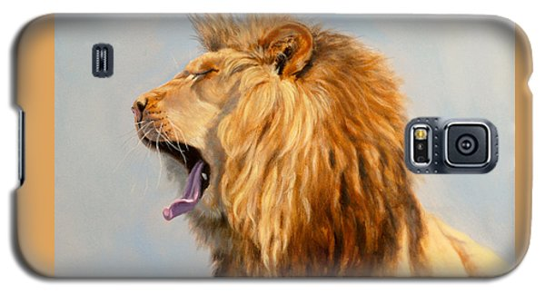 Bed Head - Lion Galaxy S5 Case