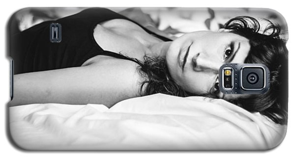 Bed Portrait Galaxy S5 Case