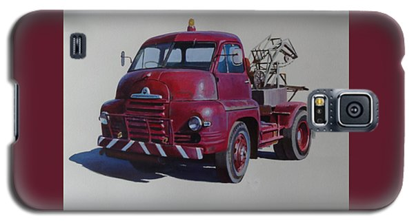 Bedford S Type Wrecker. Galaxy S5 Case by Mike  Jeffries