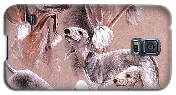 Bedlington Terrier Galaxy S5 Case