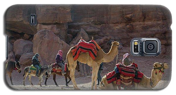 Bedouin Tribesmen, Petra Jordan Galaxy S5 Case