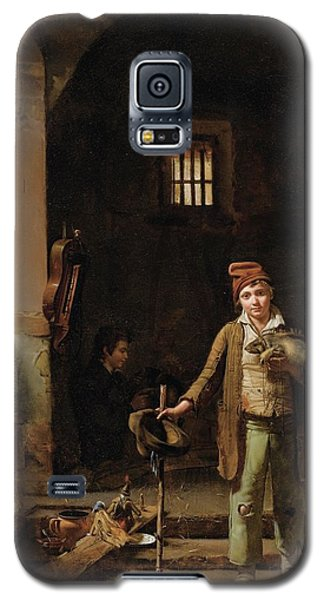 Bedroom Or The Little Groundhog Shower Galaxy S5 Case by MotionAge Designs