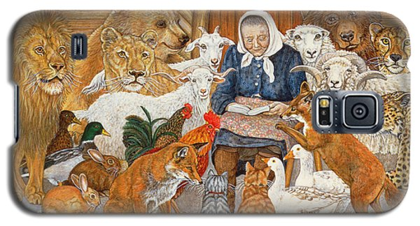 Bedtime Story On The Ark Galaxy S5 Case by Ditz