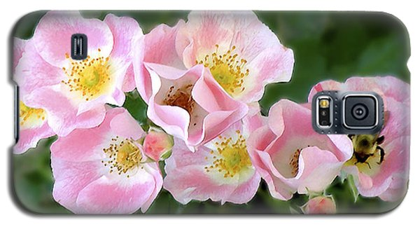 Bee And Roses Galaxy S5 Case