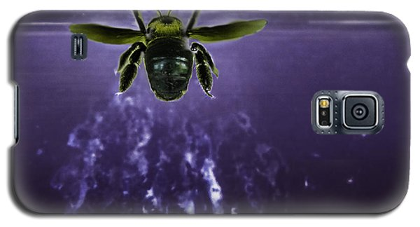 Bee Drilling Wood Galaxy S5 Case