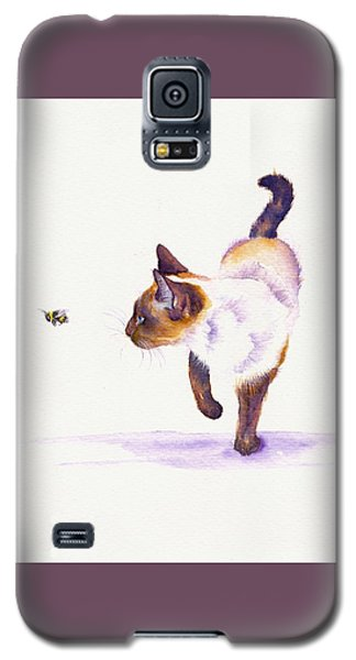 Bee Free Galaxy S5 Case by Debra Hall